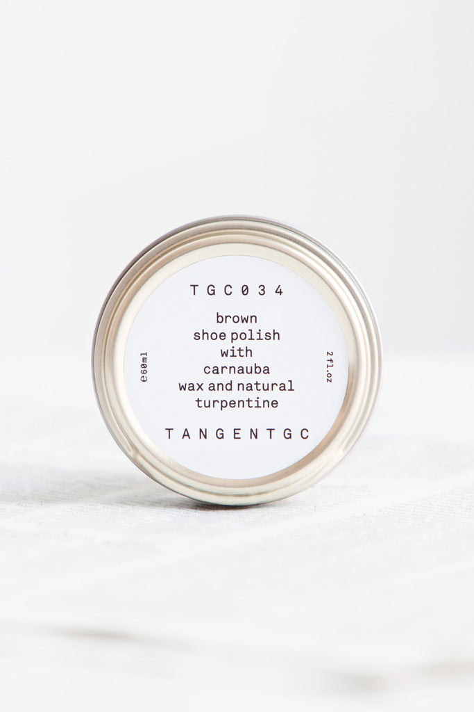 Tangent GC TGC034 Brown Shoe Polish