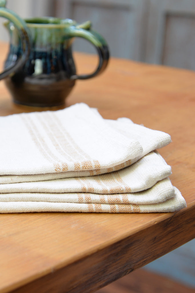 Vintage Hemp Kitchen Towels
