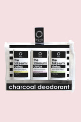 Kaia Naturals Bamboo Charcoal Deodorant Mini Trio Kit
