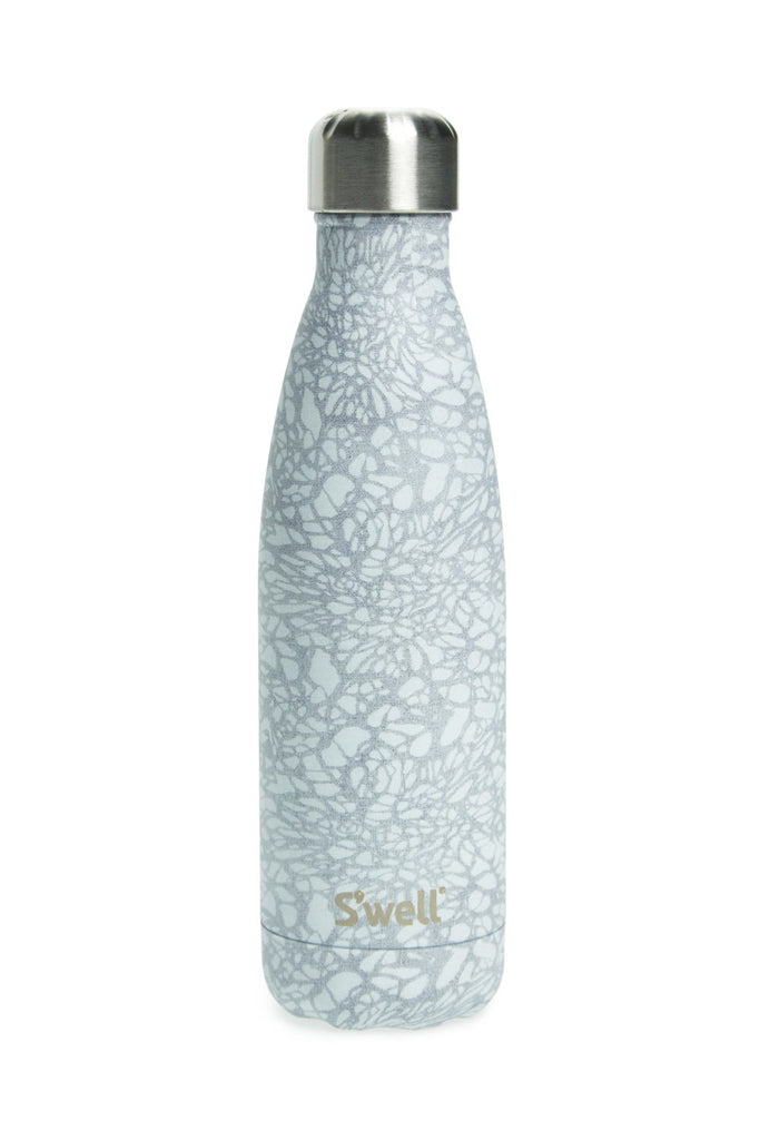 S'well Water Bottle White Lace