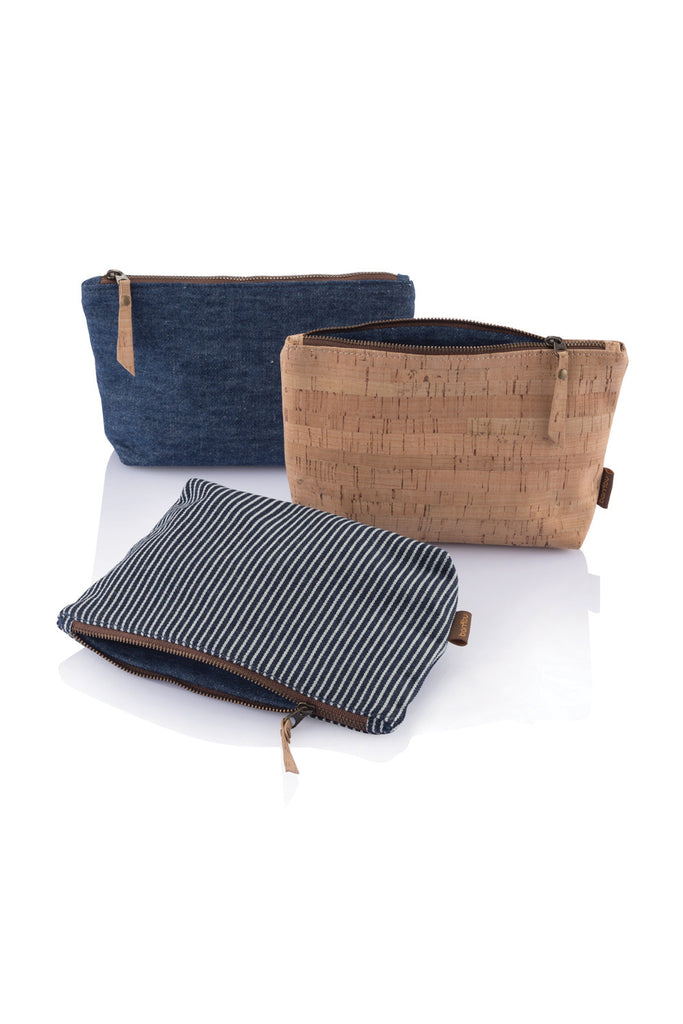 Bambu Travel Zip Pouches