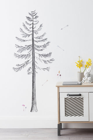 Love Mae Pine Tree - Fabric Wall Decals