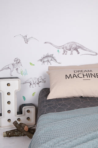 Love Mae Dinosaur Invasion - Fabric Wall Decals