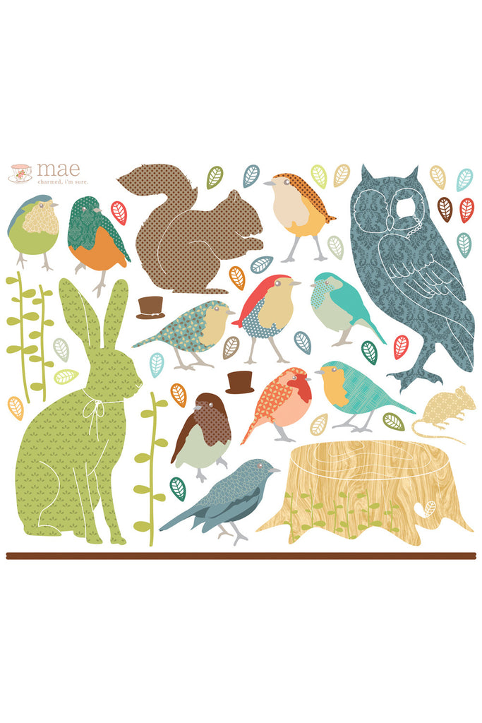 Love Mae Earthly Forest Critters - Sheet Layout
