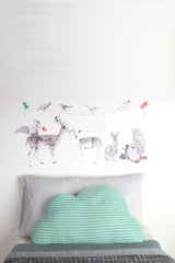 Forest Folk - Fabric Wall Decals