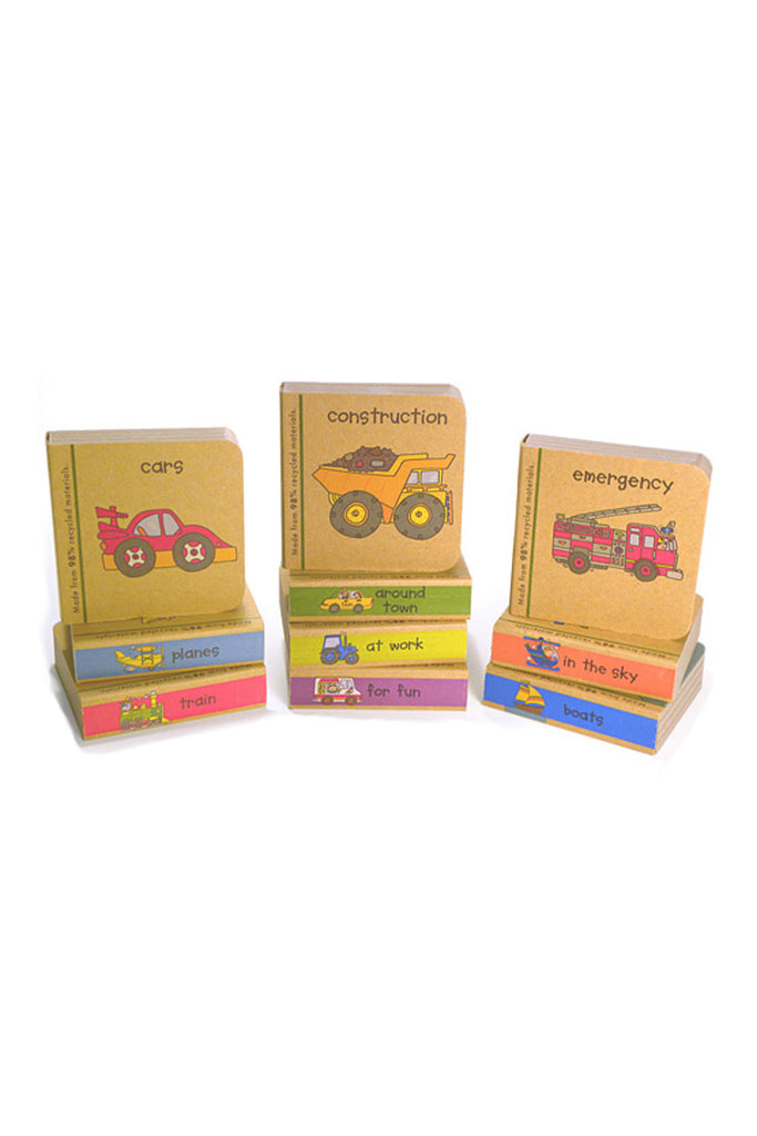 Innovative Kids Little Vehicle Chunky Books