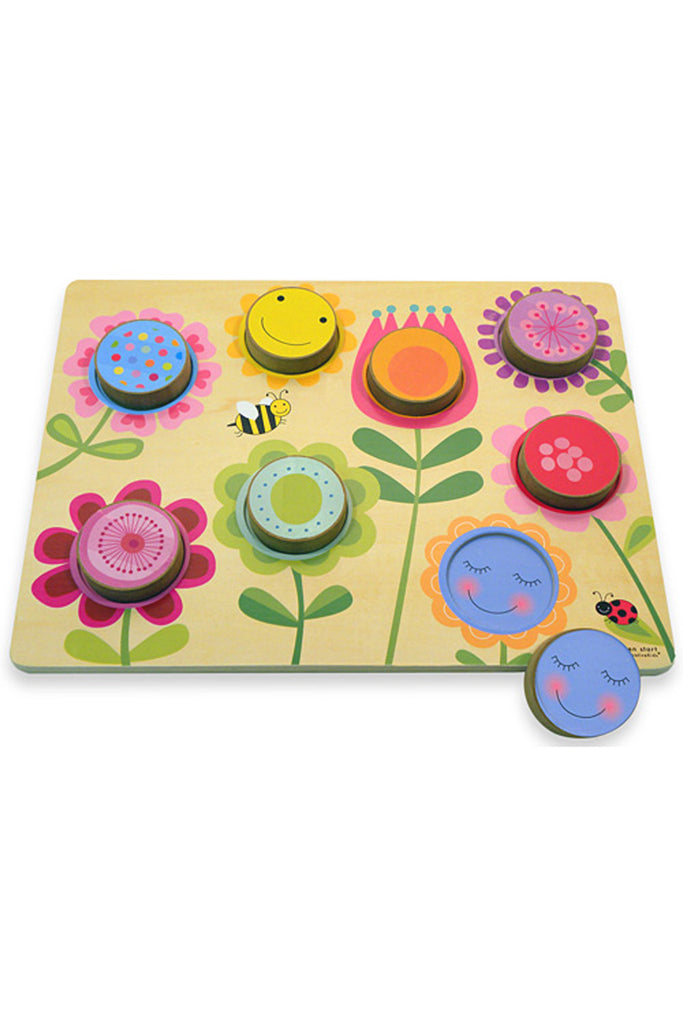 Innovative Kids Circle Garden - Chunky Wooden Puzzle