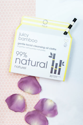 Kaia Naturals Juicy Bamboo Natural Facial Cleansing Cloths