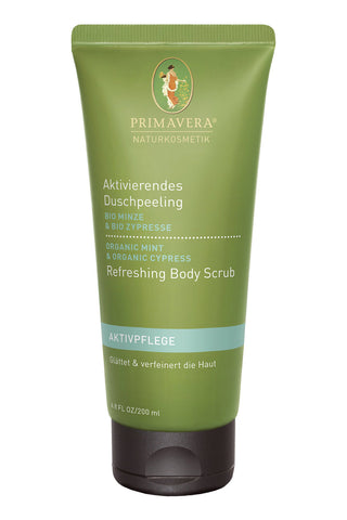 Primavera Mint & Cypress Refreshing Body Scrub