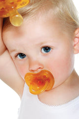Hevea Natural Rubber Pacifier Star & Moon