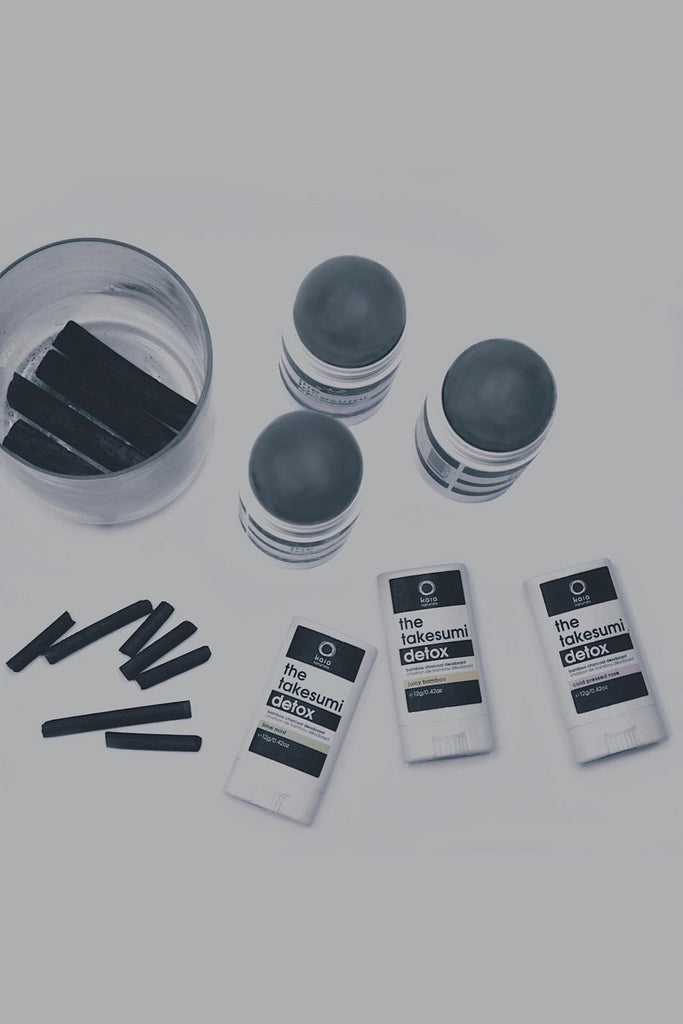 Bamboo Charcoal Deodorant Mini Trio Kit