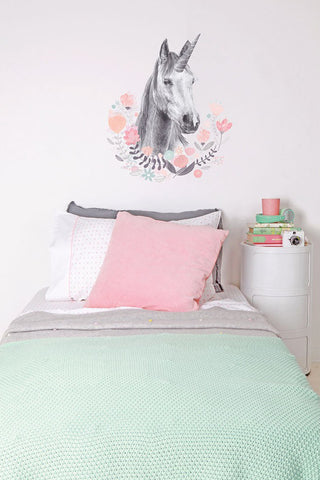 Love Mae Unicorn - Wall Decals