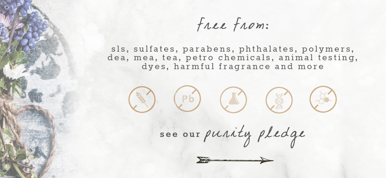 Natural Products - Our Purity Pledge