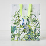 Designers Guild White Peacock Gift Bag Large