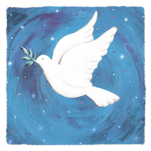 Dove bringing Peace cards (Pack of 10)