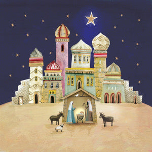 Bethlehem Christmas Cards (Pack of 10)
