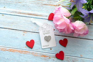 Sparkle Heart Wedding Favour (Pack of 10)