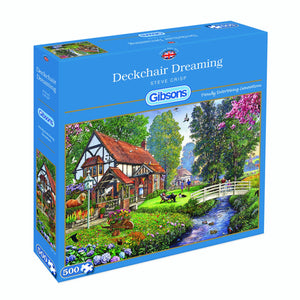 Deckchair Dreaming Jigsaw Puzzle 500pc
