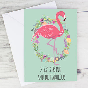 Personalised Stay Strong card