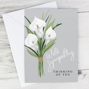 Personalised Sympathy Card