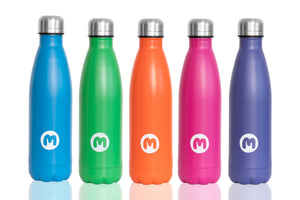 Green Metal Water Bottle