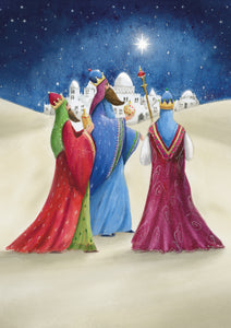 Three Kings Arrival Christmas Cards (Pack of 10)