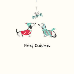 Dachshunds Christmas Cards (Pack of 10)