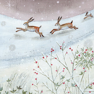 Midnight Dash Christmas Cards (Pack of 10)