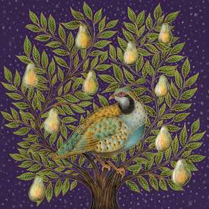 Partridge in a Pear Tree Christmas Cards (Pack of 10)