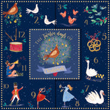 Twelve Days of Christmas Cards (Pack of 10)
