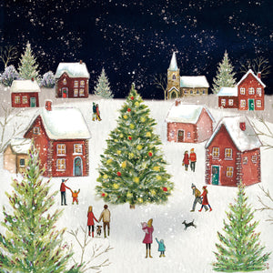 Christmas Village Christmas Cards (Pack of 10)