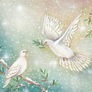Doves of Peace Christmas Cards (Pack of 10)