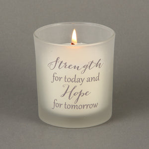 Strength and Hope Candle