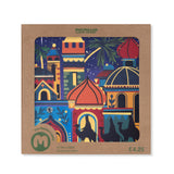 Moonlit Bethlehem Christmas Card (Pack of 10)