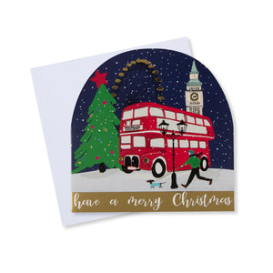 London Scene Christmas Card (Pack of 10)