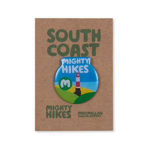 South Coast Mighty Hikes Badge
