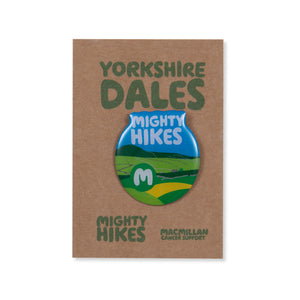 Yorkshire Dales Mighty Hikes Badge
