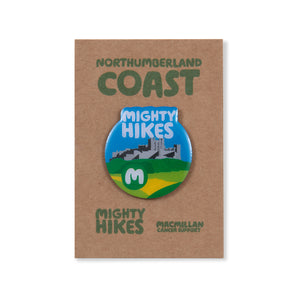 Northumberland Coast Mighty Hike Badge