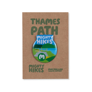 Thames Path Mighty Hike Badge