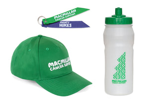 Mighty Hikes Bundle: Cap, Bottle and Backpack Ribbon