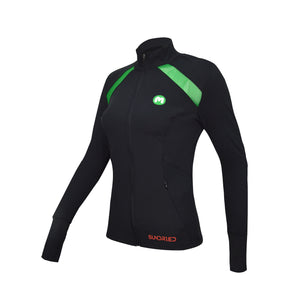Sundried Long Sleeve Zip Top