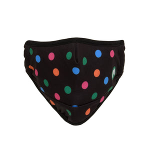 Macmillan Polka Dot Face Covering Black