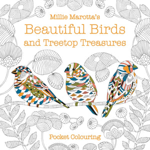 Millie Marottas Beautiful Birds Pocket Colouring