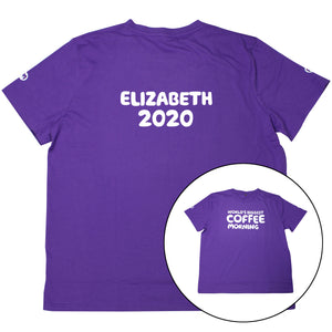 Personalised Coffee Morning T-Shirt