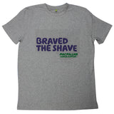 Personalised Brave the Shave T-shirt