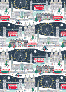 London Scene Wrapping Paper