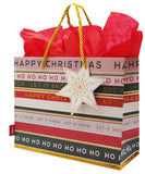 Multi stripe Gift Bag Medium