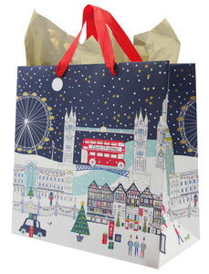 London Scene Gift Bag Large