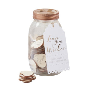 Wish Jar Alternative Guestbook