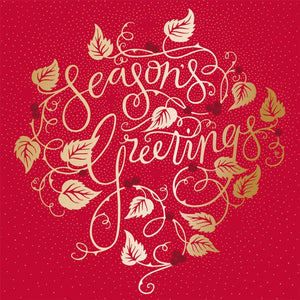 Season's Greetings cards (Pack of 10)